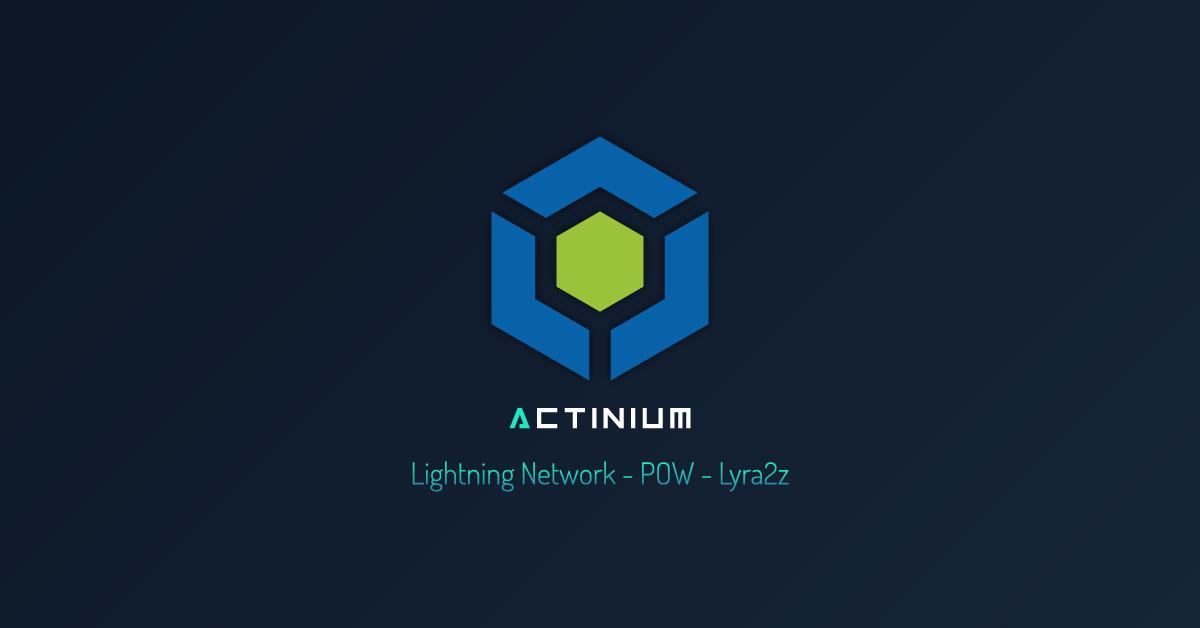 Actinium | Cryptocurrency - Lightning Network